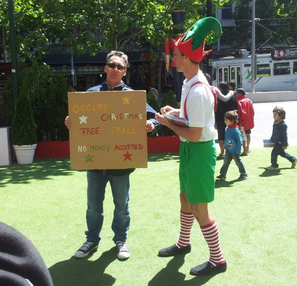 Occupy Christmas Elves