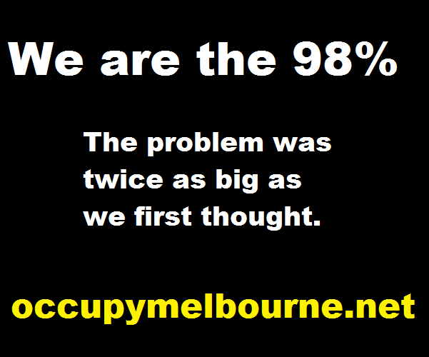 We discovered we had our own 1%, please wait while we remove them.