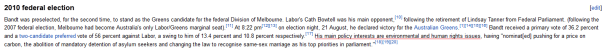 Bandt wikipedia quote