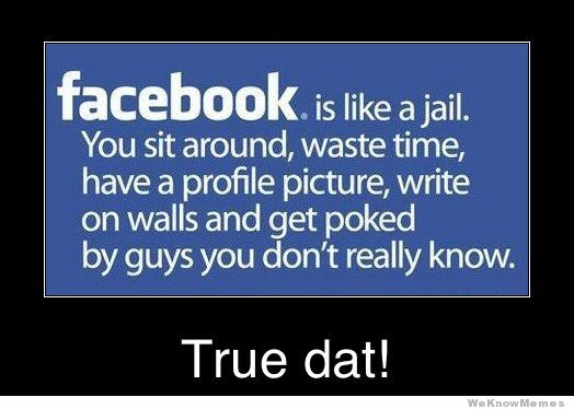 Facebook, seriously, bail yourself out of that prison!