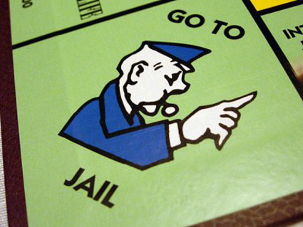 Go to Jail Monopoly game