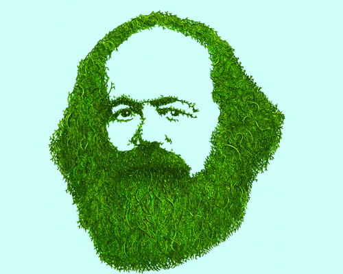 Karl Marx, whats behind all that 'Green'.