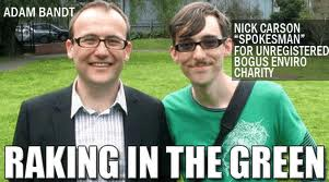 Nick Carson can't say he never knew Adam Bandt.