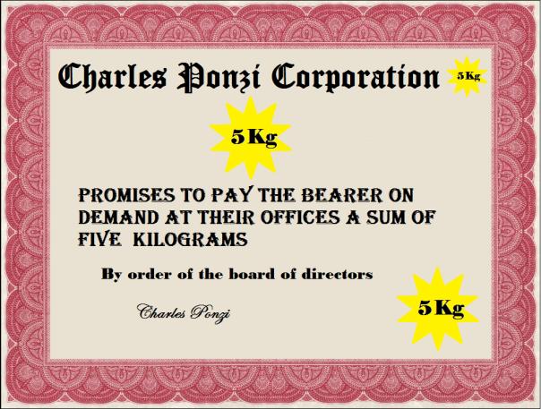 ponzi bucks