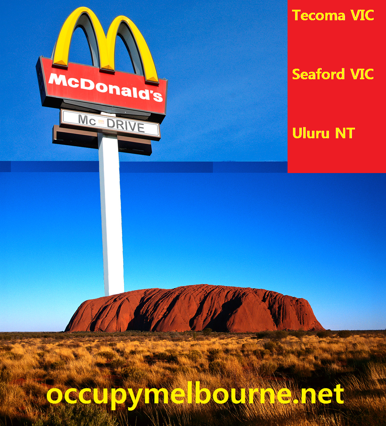 McDonalds Uluru: Is it possible? | OCCUPYMELBOURNE.NET