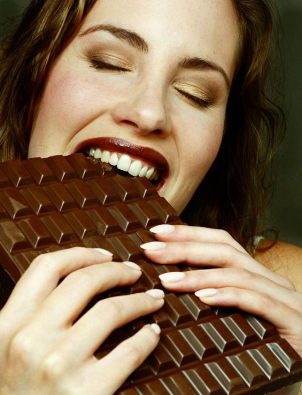 Eat lots of chocolate, again lots of antioxidants, Jean ate almost a kilogram a week.