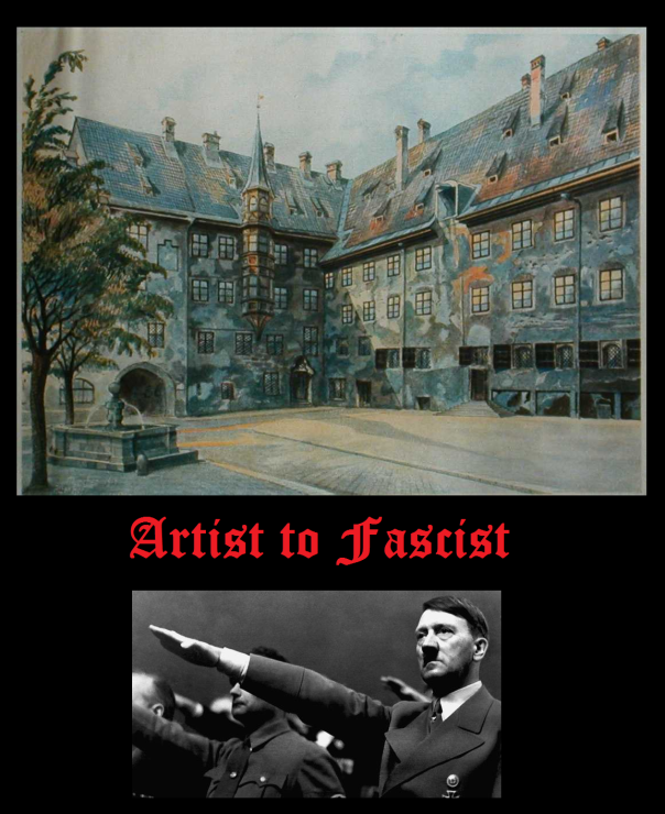 AH artist to fascist