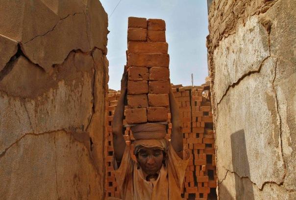 Brick worker