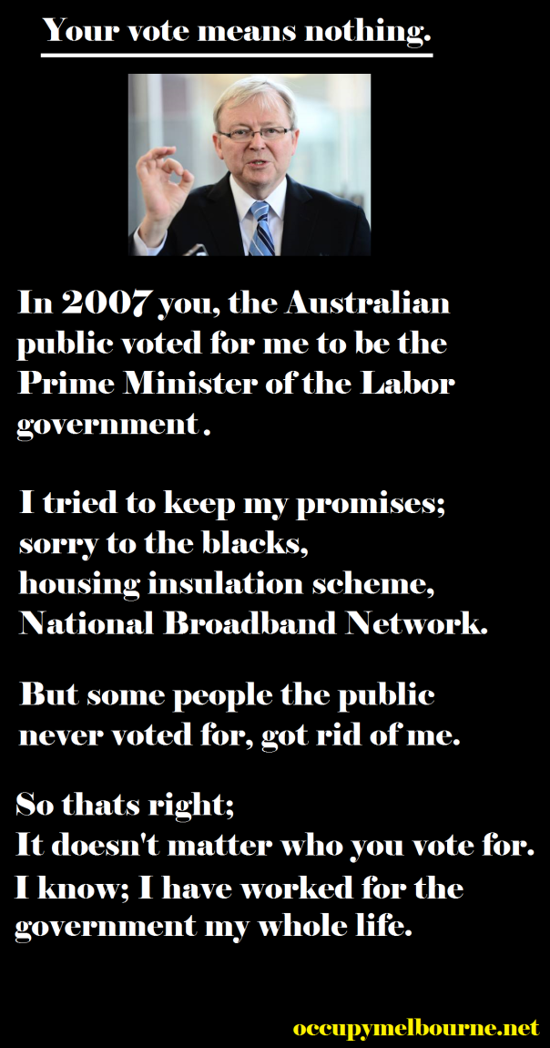 Kevin Rudd has not endorsed this message.