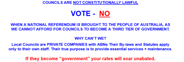 no to local councils