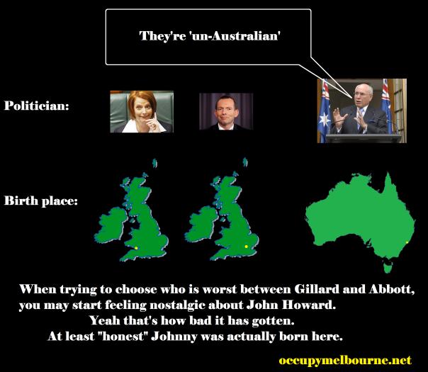 un australian by howard