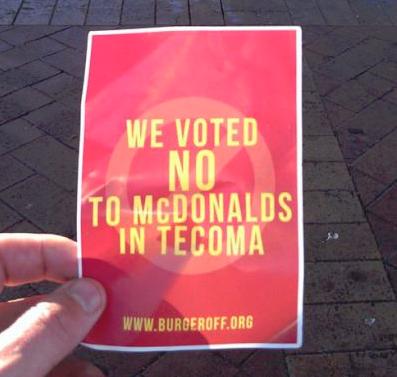 Burgeroff in Tecoma