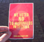 Anonald McDonald and Obama Bin Laden Shut Down CityMaccas