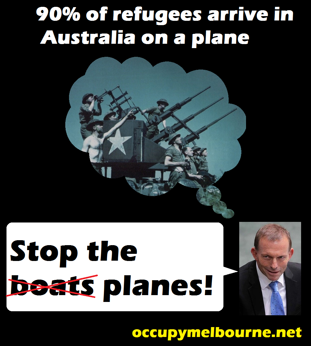 Abbot stops the planes