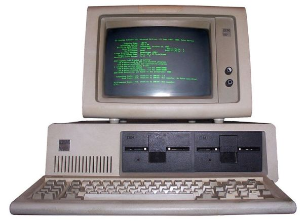 The IBM 5150 released on August 12 1981, this is where we get the term PC from and much of the basic architecture still in use.