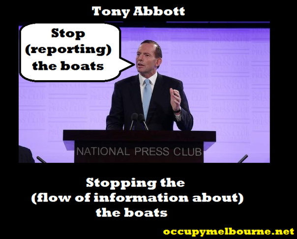 tony stops the boats