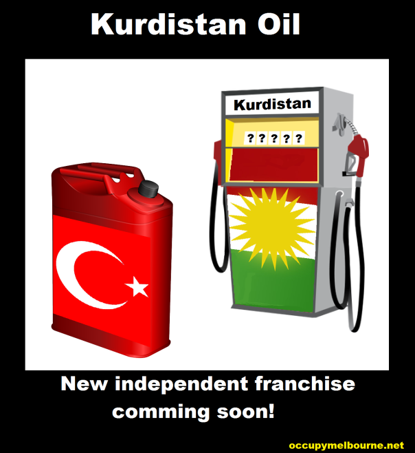 Kurdistan begin selling oil to Turkey, but not via Iraq.