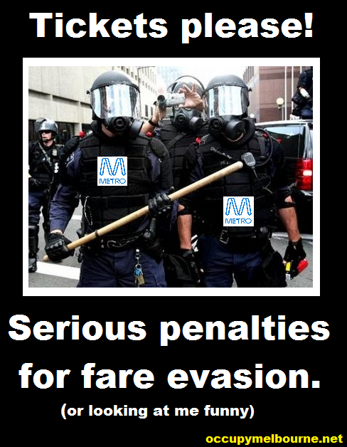 Metro gets serious about fare evasion.