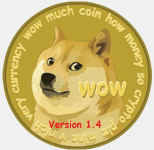 doge coin 1point 4