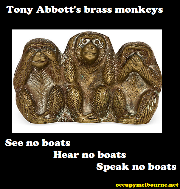 tony abbots brass monkeys tagged