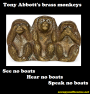 Tony Abbott's brass monkeys (boats edition)