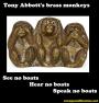 Tony Abbott's brass monkeys (boatsedition)