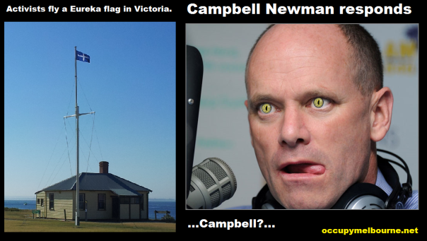 campbell eyes the flag