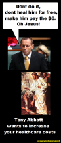 Abbott plans to scrap free GP visits: 6dollars?