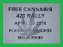 Free Cannabis 420 rally flagstaffgardens