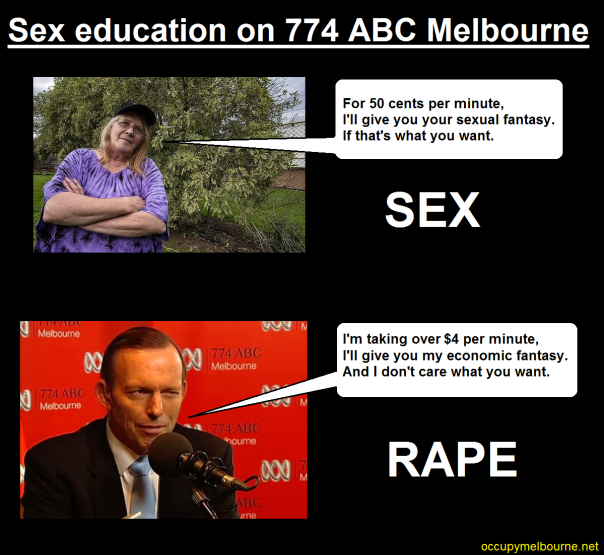 abbott sex education ABC 774 tagged