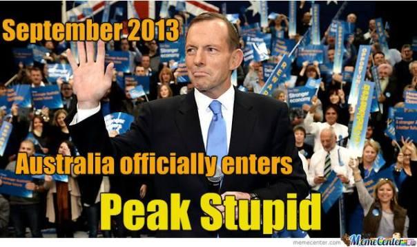 peak stupid