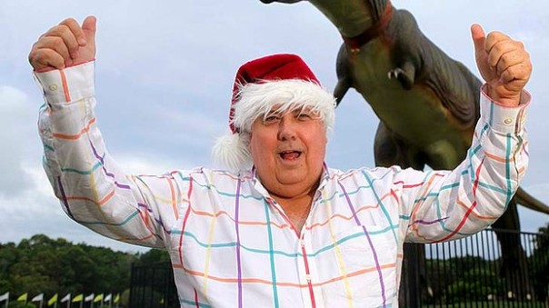 there might be a Christmas this year now that Palmer has caged the beast of Abbottosaurus