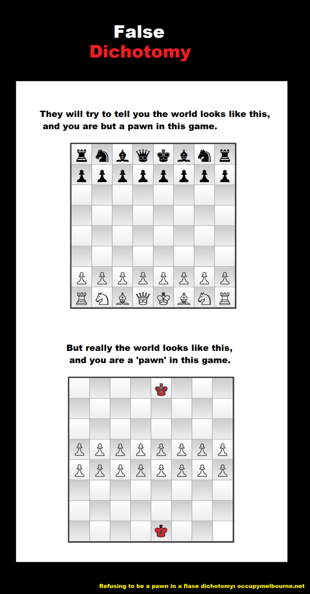chessboard false dichotomy