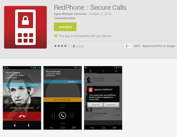redphone android