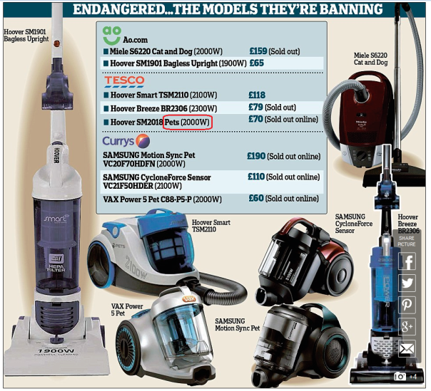 Comrde these vacuum cleaners are traitors to the cause and must be purged.