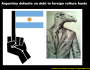Argentina flips the bird to the vultures