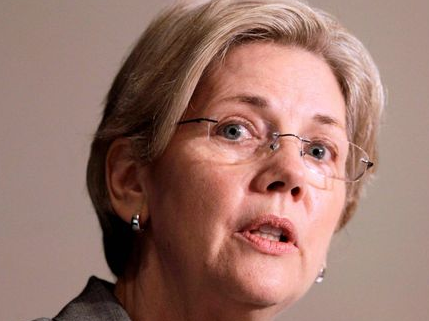 Elizabeth Warren US senator ( image from Washington times)
