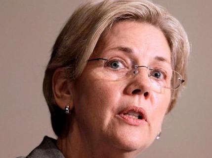 Elizabeth Warren US senator ( image from Washington times)