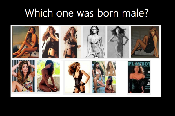 which is a man